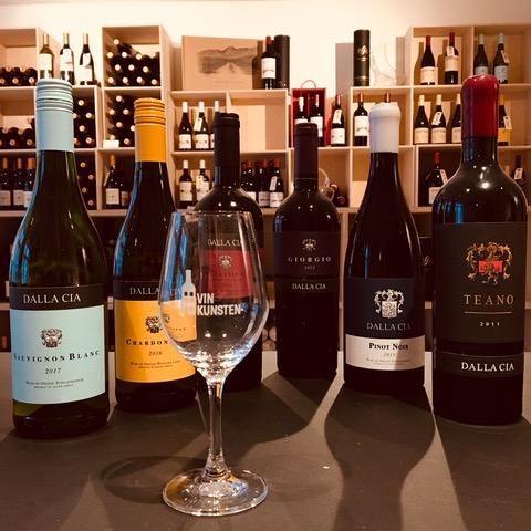 Vinsmagning – Dalla Cia – 8. marts kl 18-20
